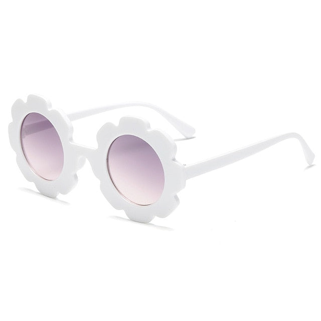 Children's Sunglasses Girl Baby Boy Cute Summer Round Frame Small Sunglasses