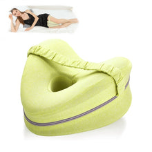 Load image into Gallery viewer, Orthopedic Pillow for Sleeping Memory Foam Leg Positioner Pillows Knee Support Cushion between the Legs for Hip Pain Sciatica