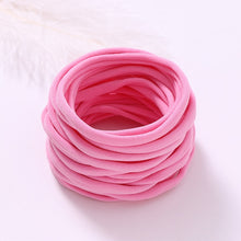 Load image into Gallery viewer, 11pcs Soft Nylon Headband for Baby Girl DIY Hair Accessories Elastic Head Band Kids Children Fashion