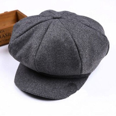 New Baby Hat for Boys Vintage Newsboy Kids Cap Baby Boys Hat Autumn Winter Baby Cap for Boy Children Hats
