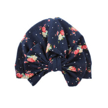 Load image into Gallery viewer, Newborn Beanie Baby Sweet Hat Flower Bowknot Baby Cap Infant Girls Autumn Hats Soft Cotton Toddler Knit newborn Caps