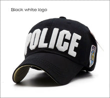 Load image into Gallery viewer, Children Police Baseball Cap Kids Boys Girls Snapback Hats Casual  Adjustable