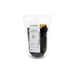 AVADOR Organics Black Pepper Whole
