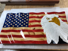 Load image into Gallery viewer, *In stock* custom eagle flag