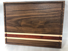 Load image into Gallery viewer, Walnut cutting board *in stock*