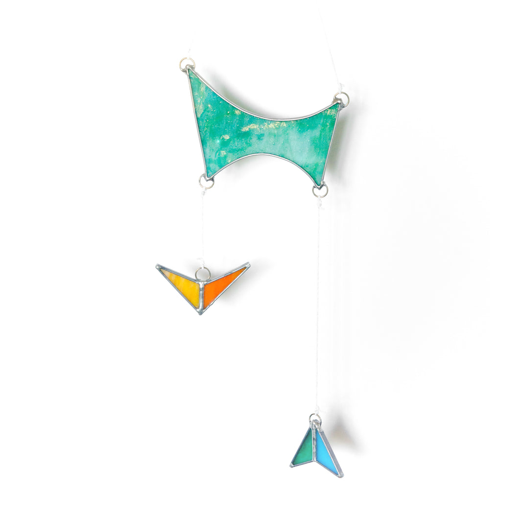 Atomic Shapes Suncatcher | Teal