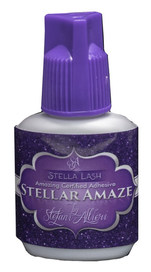 Stella Lash Stellar Amaze Lash Adhesive from The Lash Shop is perfect for winter eyelash extensions.