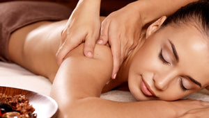 Massage is one way to relieve stress and tension for professional lash technicians.