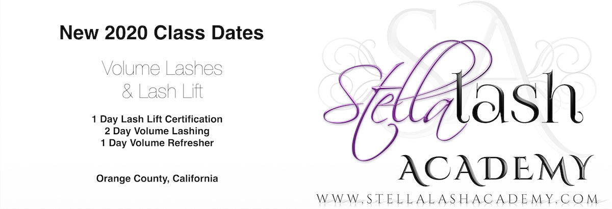 Stella Lash Academy Training Classes / Speciality Workshops