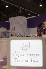 The Lash & Tweezer Testing Bar to try our products