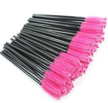 Disposable Mascara Wands PINK Head - The Lash Shop @ StellaLash