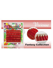 Vivienne Fantasy SCARLET RED Colors .10 C CURL MIXED size 8mm - 13mm Volume Mini Trays - The Lash Shop @ StellaLash