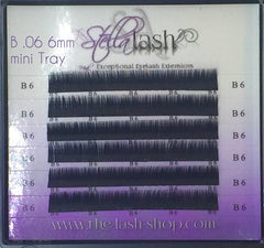 StellaLash B .06 6MM only Mini tray - The Lash Shop @ StellaLash