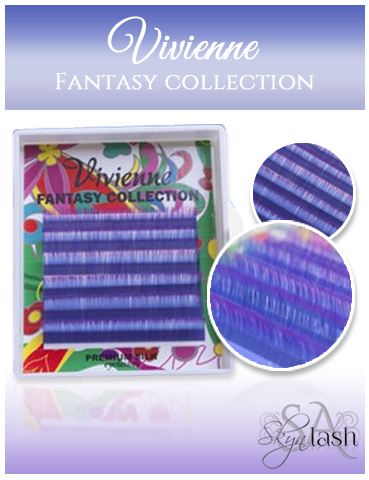 Vivienne Fantasy BLUE/PURPLE OMBRE 2 Colors .10 MIX