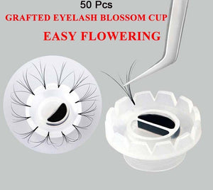 Blossom Cups Glue Wells 50 pack - The Lash Shop @ StellaLash
