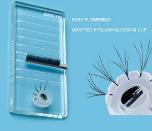 Crystal Pallet Rectangular with glue well - The Lash Shop @ StellaLash
