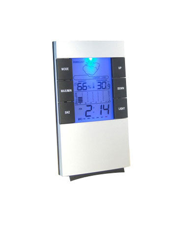 Hygrometer with Clock & Alarm - Temperature & Humidity Reading