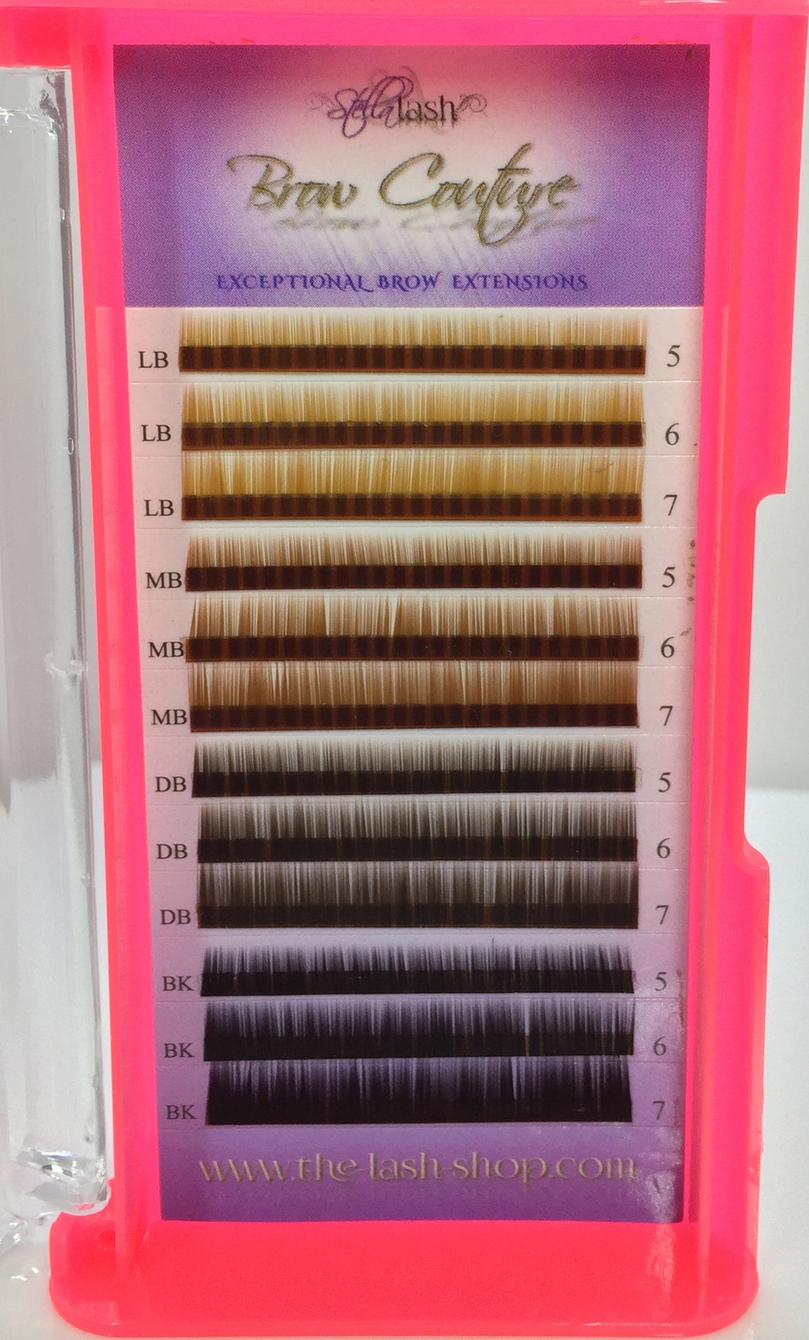 Stella Brow Extensions Mix Colors - The Lash Shop @ StellaLash