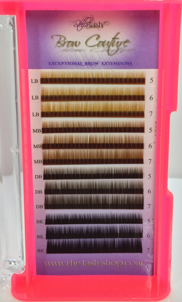 Stella Brow Extensions Mix Colors