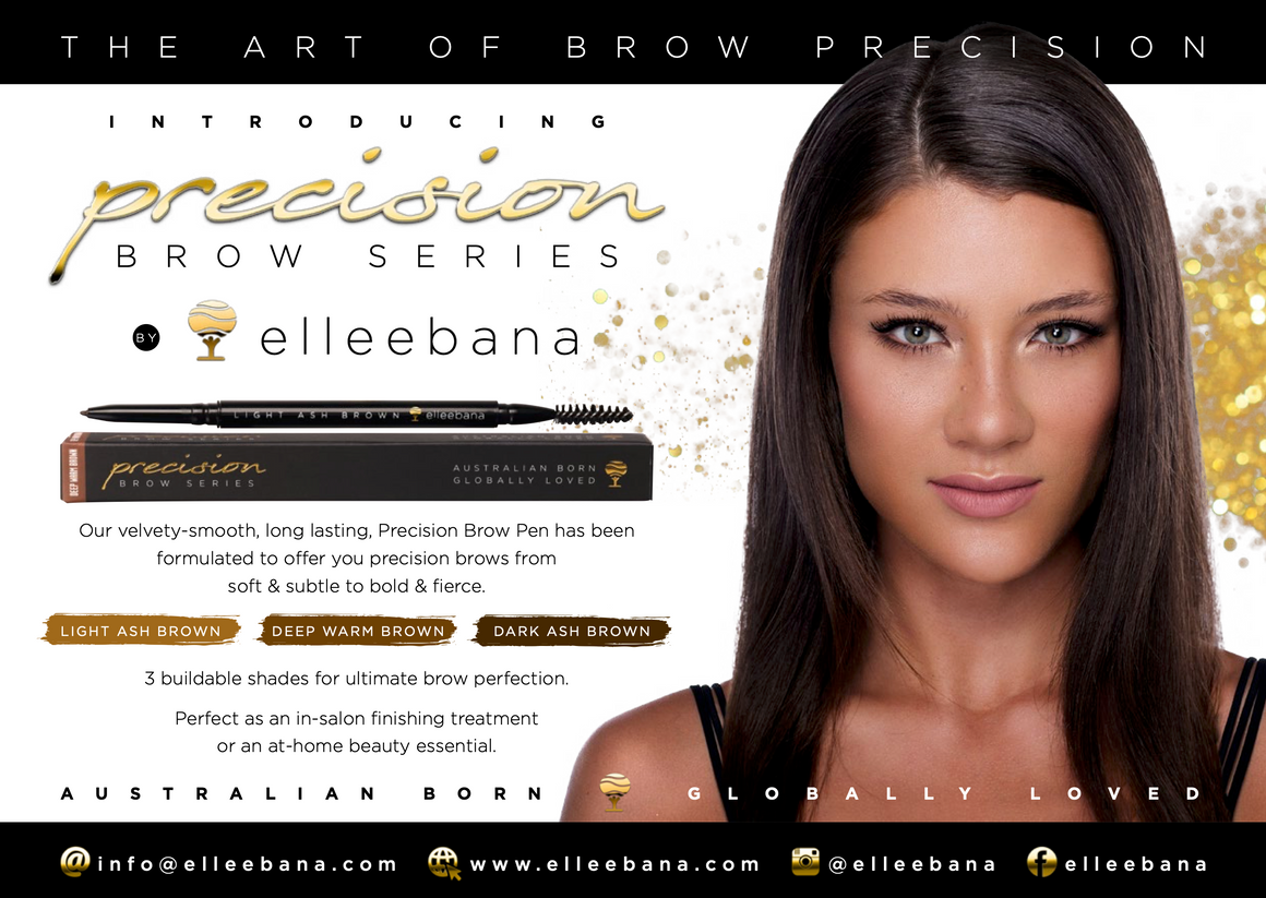 Precision Brow Pencil Series by Elleebana - The Lash Shop @ StellaLash