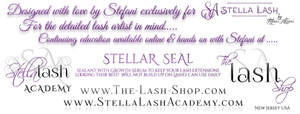 STELLAR SEAL Lash Sealant BLACK - The Lash Shop @ StellaLash