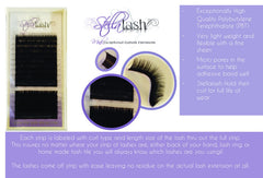 Stella .05 Mixed Trays B/C/D - The Lash Shop @ StellaLash