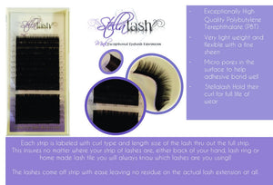 Stella .06 mixed tray C or D Curls - The Lash Shop @ StellaLash