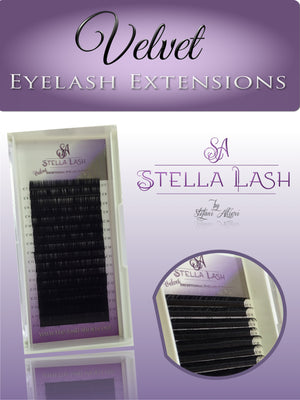 StellaLash VELVET C Curl - The Lash Shop @ StellaLash