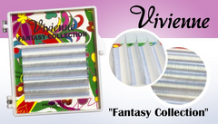 Vivienne Fantasy WHITE Colors .07 Volume Mini Trays - The Lash Shop @ StellaLash