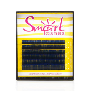 Vivienne Smart Lashes Color BLUE Mixed Length Mini Trays - The Lash Shop @ StellaLash