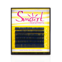 Vivienne Smart Lashes Color BLUE Mixed Length Mini Trays