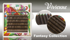 Vivienne Fantasy KHAKI Colors .07 Volume Mini Trays - The Lash Shop @ StellaLash