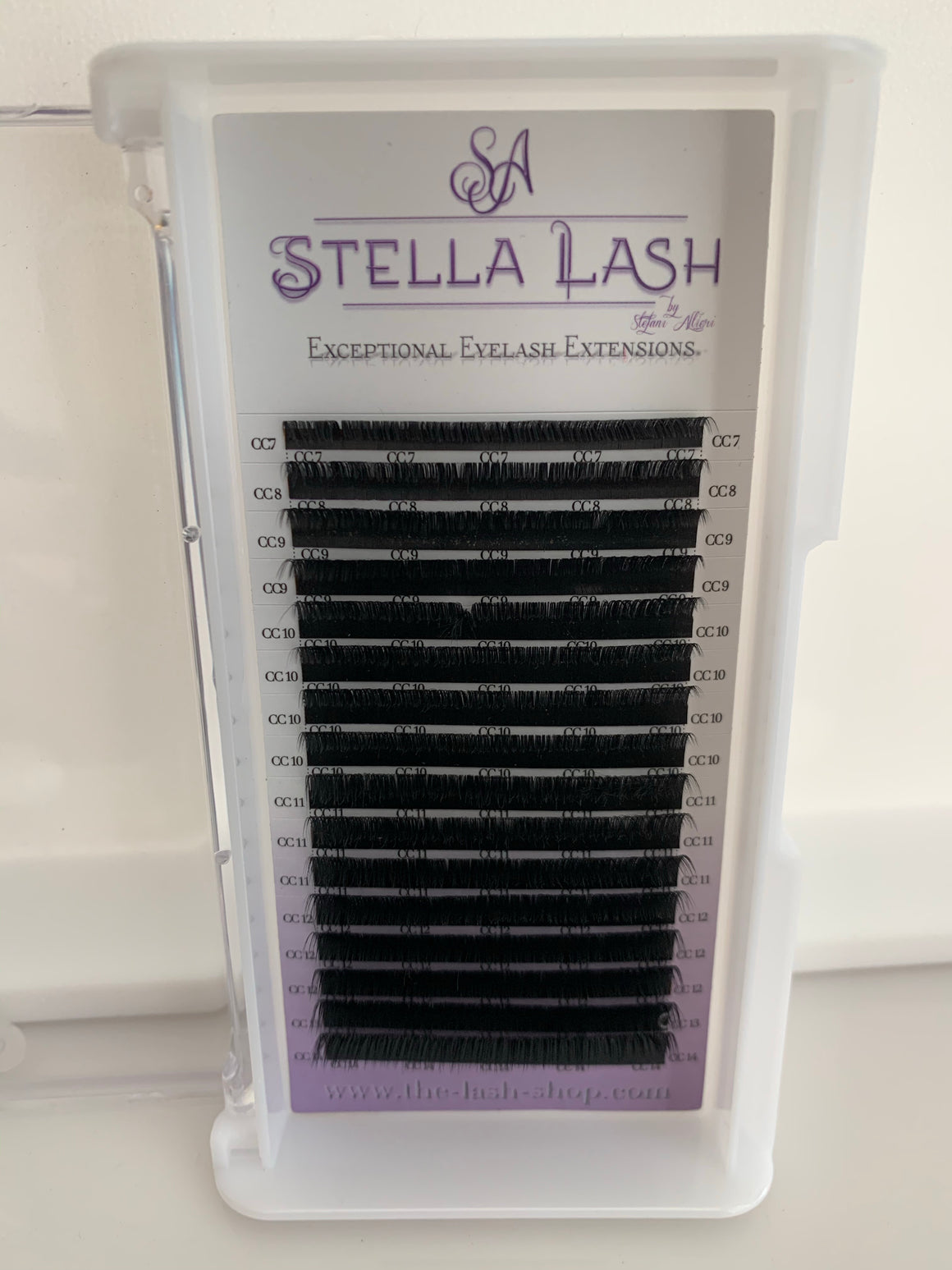 Stella CC Curl Single Length Trays - The Lash Shop @ StellaLash