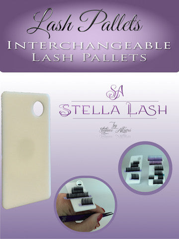 INTERCHANGEABLE LASH PALLETS ONLY for use with Finger Lash Pallet Rings