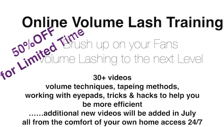 Online Volume Lash Training Program - The Lash Shop @ StellaLash