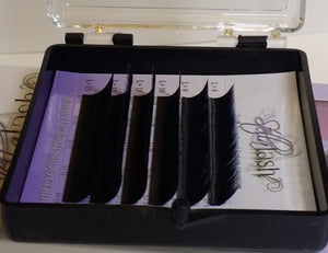 Stella Matte .10 Mixed Mini-Trays 8mm - 13mm - The Lash Shop @ StellaLash