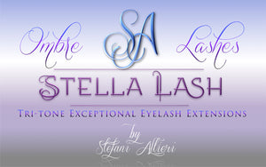 StellaLash OMBRE Tri-Tone Lashes C, CC & D .10 mixed tray - The Lash Shop @ StellaLash