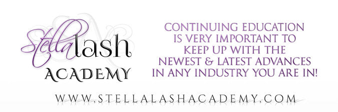 Stella Lash Academy website