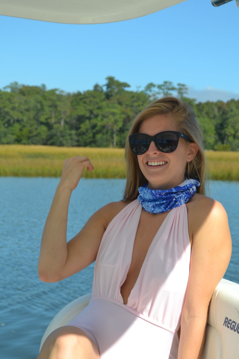 Oyster Bed Blues Bandeau