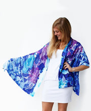 Load image into Gallery viewer, On the Mediterranean Shawl