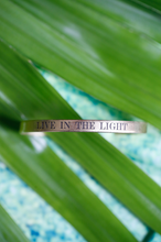 Load image into Gallery viewer, Live in the Light Cuff