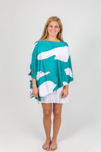 Load image into Gallery viewer, Creek Coral Party Poncho