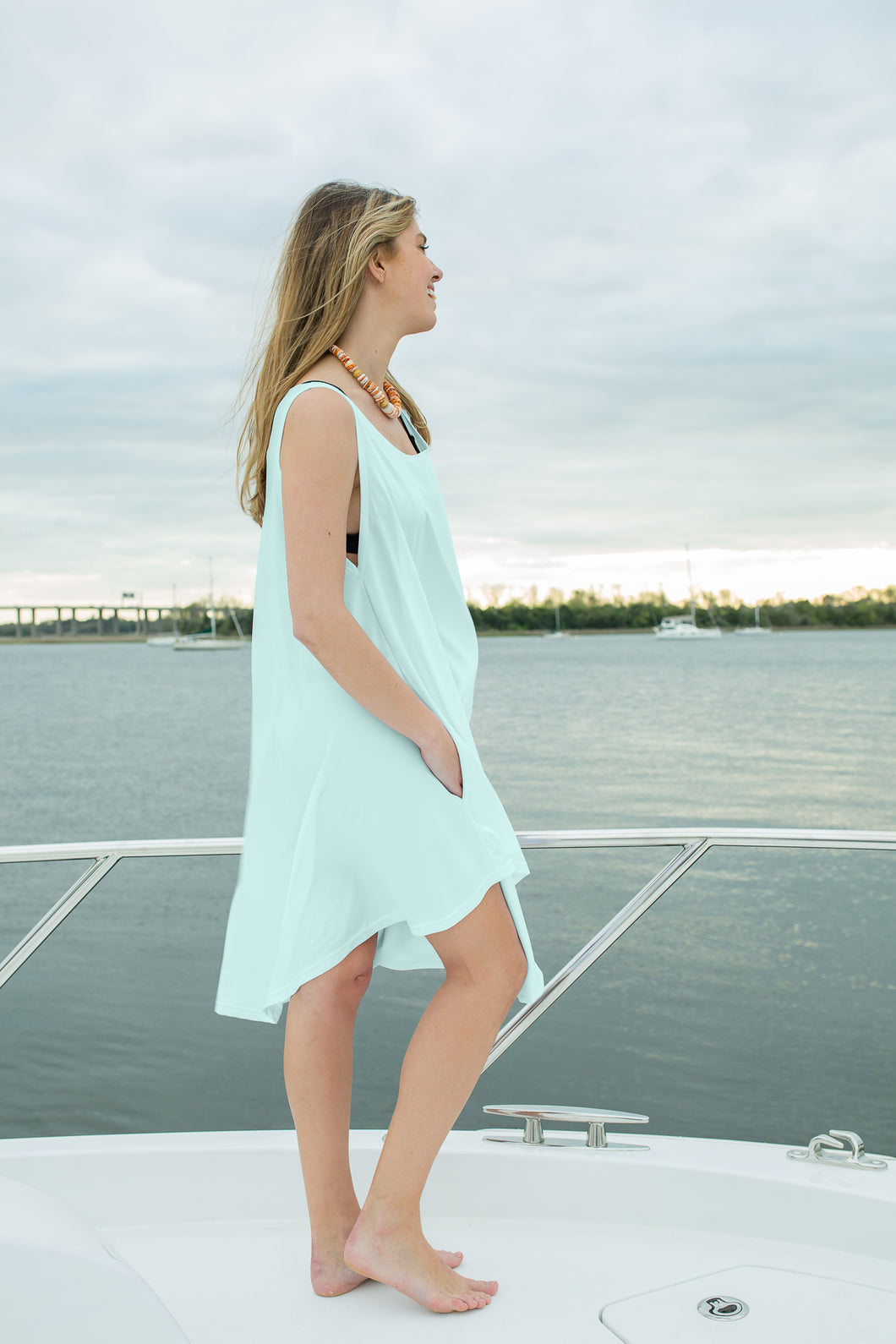Sea Glass Green - Decked Out Dress