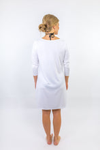 Load image into Gallery viewer, Sand Dunes White Dock Dress