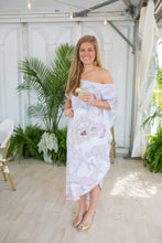Load image into Gallery viewer, On The Half Shell Maxi Coastal Caftan