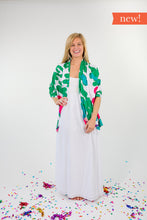 Load image into Gallery viewer, Pretty in Pink + Green - Sunny Shawl