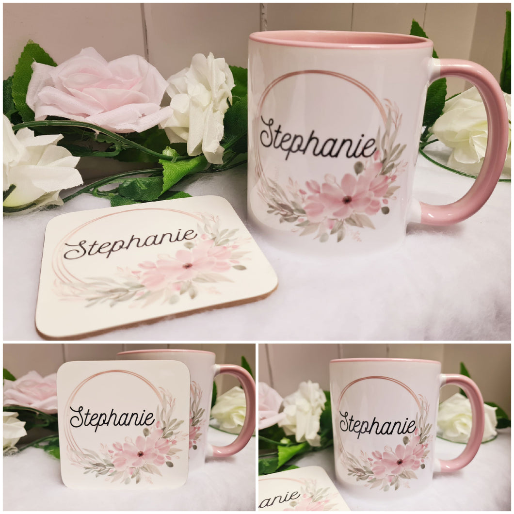 Floral Mug - Made For You Gifts