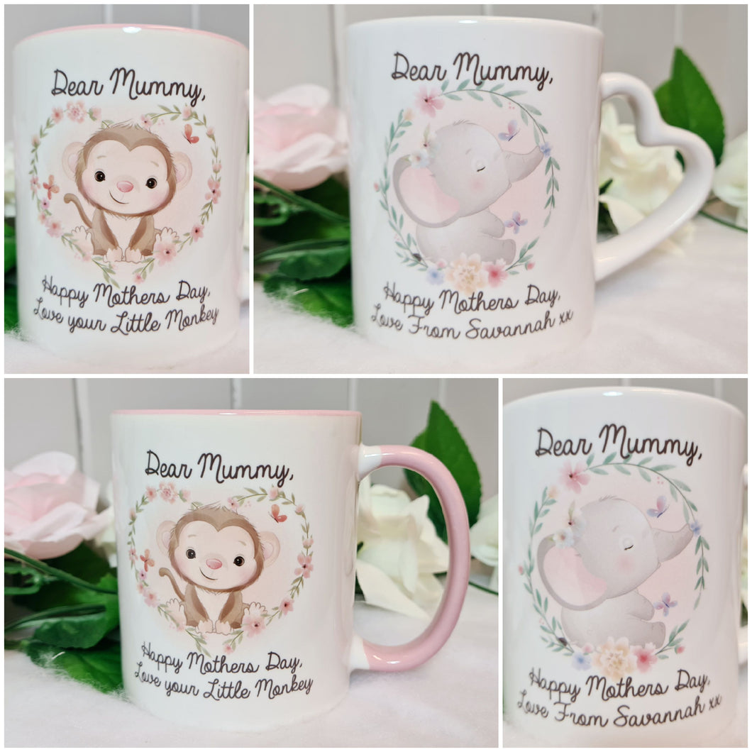 Cute Animals Mother's Day Mug - Made For You Gifts