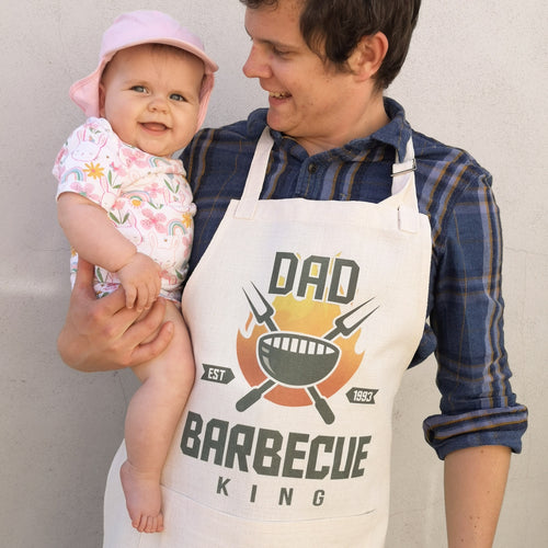 Personalised BBQ Apron - Made For You Gifts