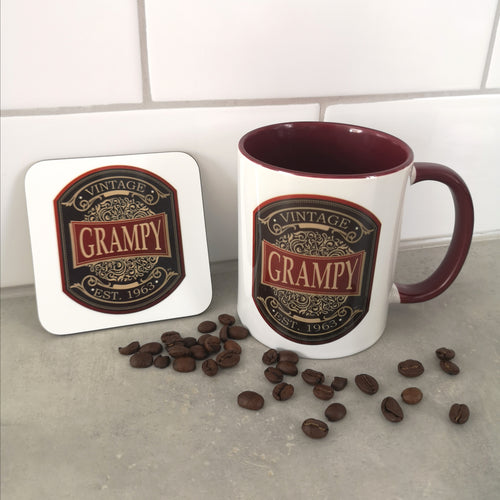 Vintage Label Mug - Made For You Gifts